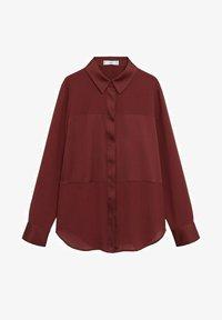 Mango - BIMA - Button-down blouse - bordeaux - 5