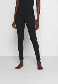 Emporio Armani - LEGGINGS - Pyjama bottoms - nero black - 0