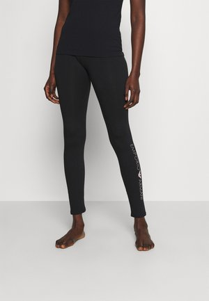 LEGGINGS - Spodnie od piżamy - nero black
