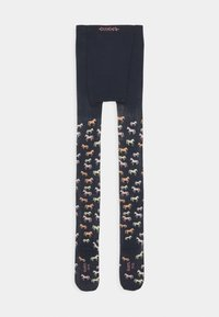 Ewers - KIDS TIGHTS HORSES - Tights - blue - 1