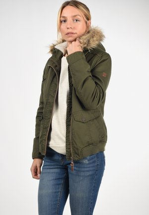 ANNIKA - Winter jacket - ivy green