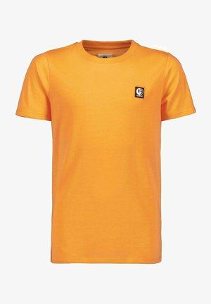T-shirt basic - neon carrot