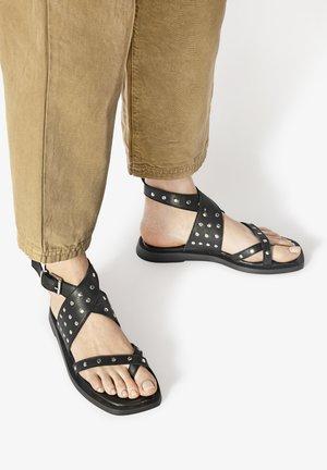 ZEHENSTEG - Sandals - black blk