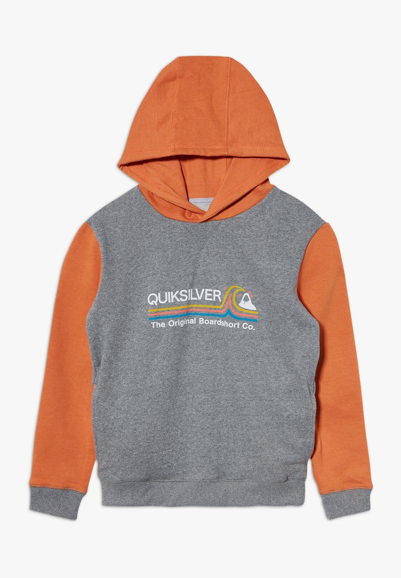 Quiksilver - PAIPO CITY HOOD YOUTH - Hoodie - apricot buff heather