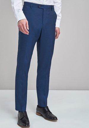 TOLLEGNO SIGNATURE - Pantaloni eleganti - royal blue