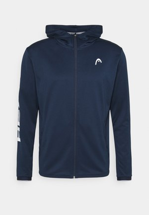BREAKER HOODIE - Mikina na zip - dress blue