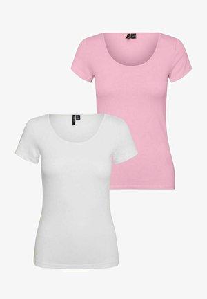 2 PACK - Basic T-shirt - roseate spoonbill