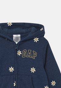GAP - ARCH HOOD - Zip-up hoodie - chrome blue - 2