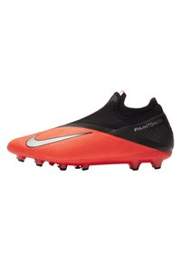 Nike Performance - PHANTOM VISION 2 PRO DF AG-PRO - Moulded stud football boots - laser crimson/black/metallic silver - 0
