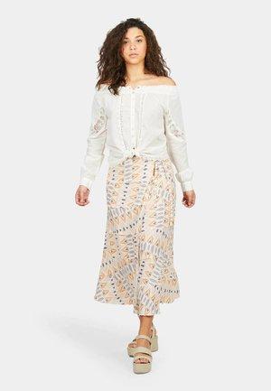 A-line skirt - multicolour