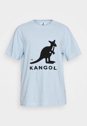 BRONX - Print T-shirt - light blue