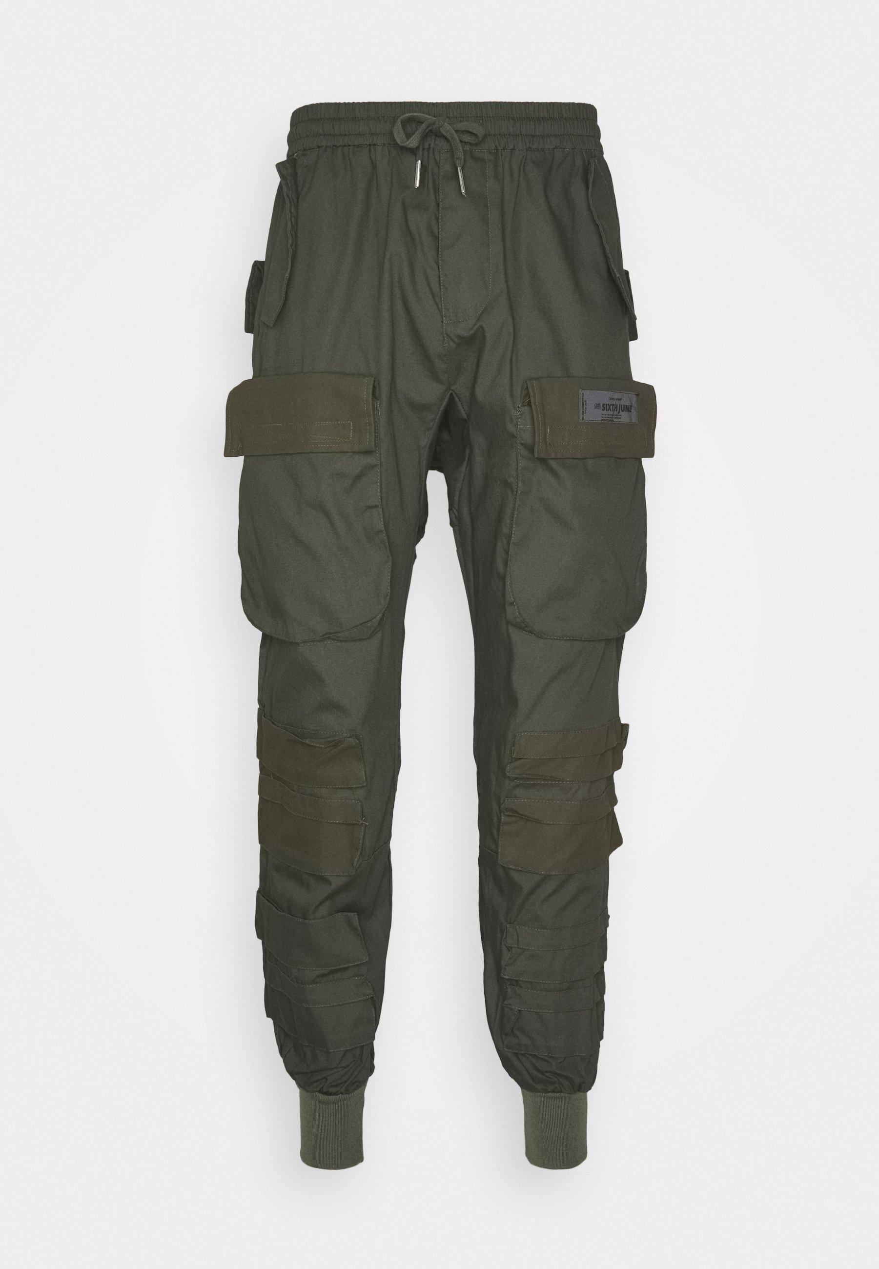 Sixth June Utility Pants - Cargobukse Khaki