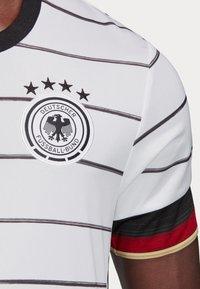 adidas Performance - DEUTSCHLAND DFB HEIMTRIKOT JERSEY SHIRT - Club wear - white/black - 7