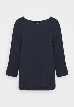 VMNADS 3/4 FOLD UP - Blouse - navy blazer
