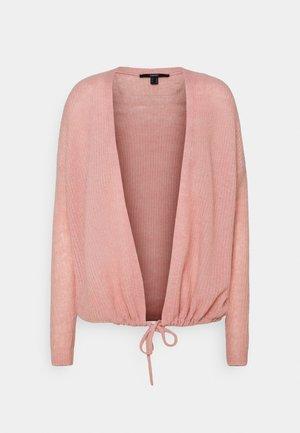 TIE CARDI - Cardigan - old pink