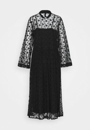 YASBACKA MIDI DRESS - Day dress - black