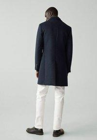 Mango - MICHIGAN-I - Classic coat - bleu - 2
