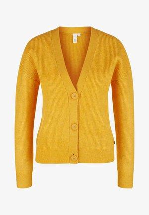 Cardigan - yellow melange