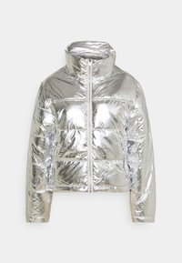 Gina Tricot - MY PUFFER JACKET - Winter jacket - silver - 4