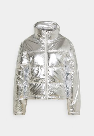 MY PUFFER JACKET - Winter jacket - silver