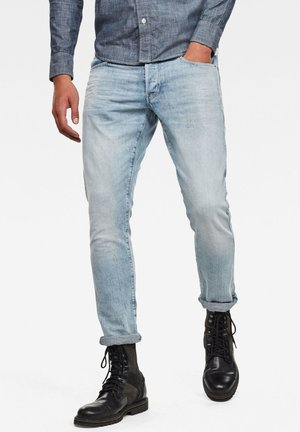 3301 STRAIGHT TAPERED - Jeans Tapered Fit - sun faded arctic