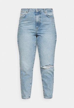 VMNADINE  - Jean slim - light blue denim