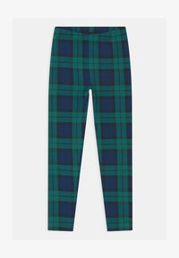GAP - GIRL - Leggings - green plaid - 0