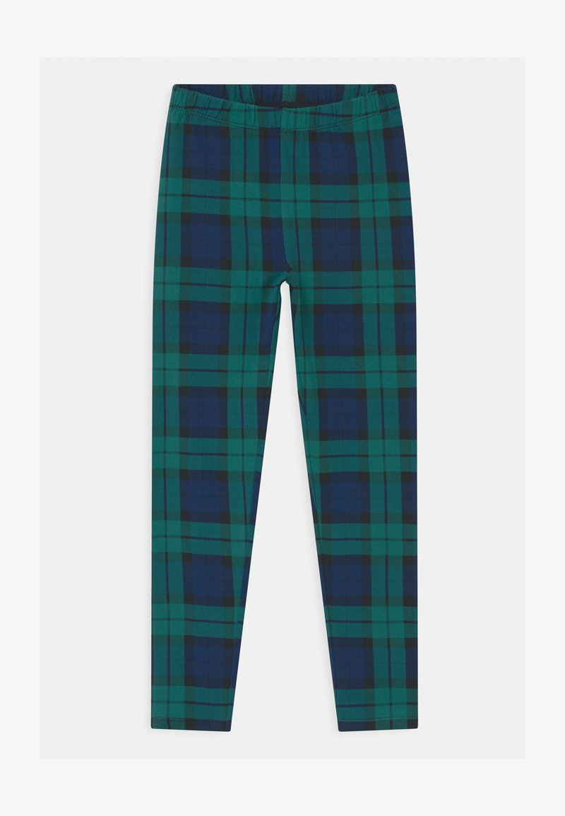 GAP - GIRL - Leggings - green plaid