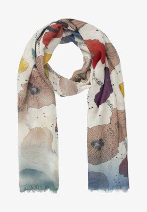 Sjaal - creme-multicolor