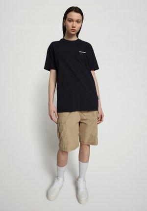 S-PATCH SS - Basic T-shirt - blu marine