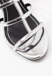 Even&Odd - Sandaler med høye hæler - silver - 2