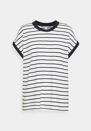 TEE POINTEL - Basic T-shirt - off white