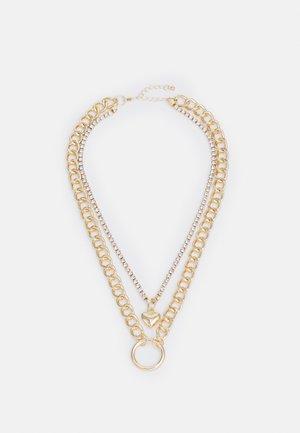 LOVA COMBI NECKLACE - Necklace - gold-coloured