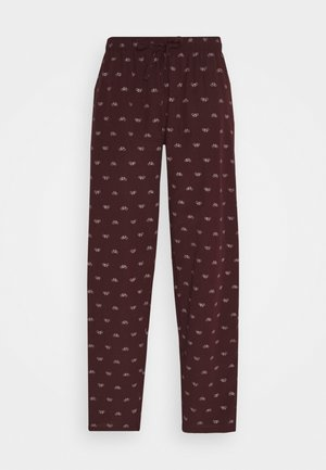 Pyjama bottoms - bordeaux