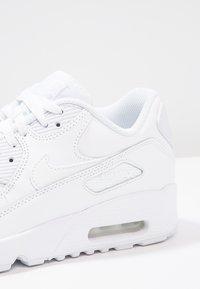 Nike Sportswear - AIR MAX 90  - Sneakers laag - white - 8