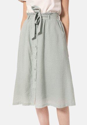 ELEONORA - A-line skirt - light green