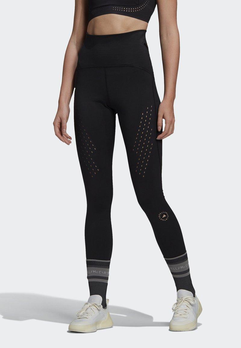 adidas by Stella McCartney - TRUEPURPOSE TIGHTS - Punčochy - black