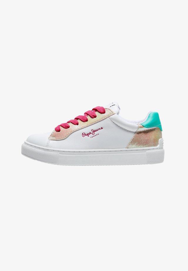 ADAMS - Sneakers laag - blanco