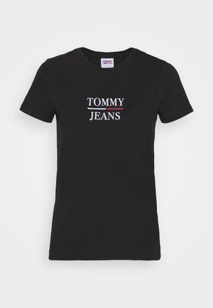 ESSENTIAL - Print T-shirt - black