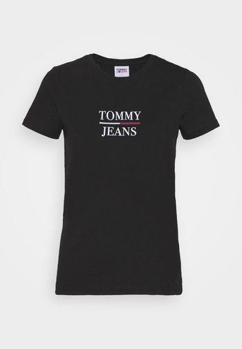 ESSENTIAL - T-shirts med print - black