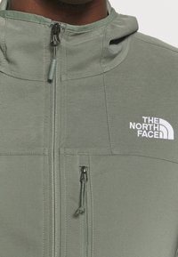 The North Face - NIMBLE HOODIE - Soft shell jacket - agave green - 3