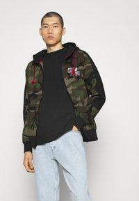 Jordan - Zip-up hoodie - medium olive/black - 2