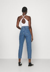 Zign - Mom Fit jeans - Straight leg jeans - blue denim - 2