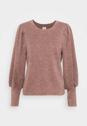 JDYEMMA PUFF SLEEVE  - Jumper - twilight mauve