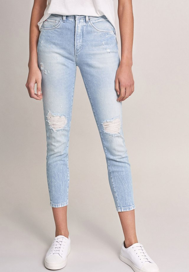 SECRET GLAMOUR PUSH IN CAPRI - Jeans Skinny Fit - blau_8501