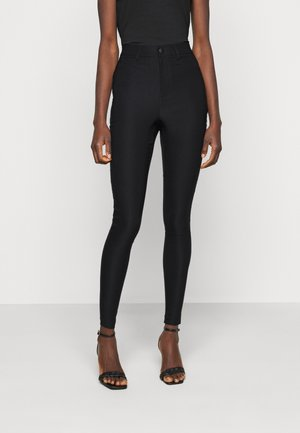 VMAUGUSTA SKINNY SOLID PANT TALL - Trousers - black