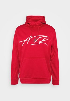 AIR THERMA - Jersey con capucha - gym red/black