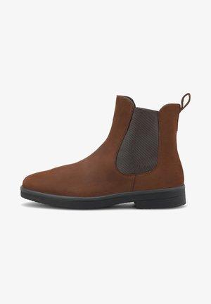 SOANA - Classic ankle boots - mittelbraun