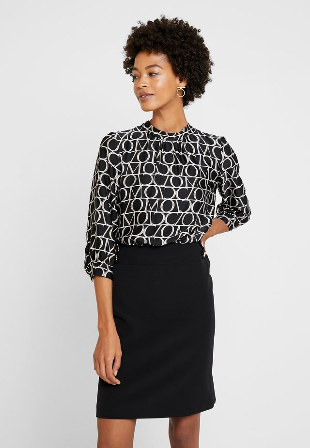 DRESS SHORT - Vestito estivo - black