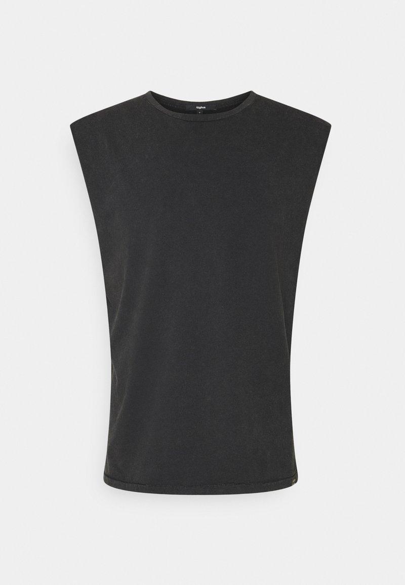 Tigha - RAMIS - Basic T-shirt - vintage black